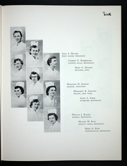 Page 17, 1954 Edition, Methodist Kahler School of Nursing - Link Yearbook (Rochester, MN) online yearbook collection