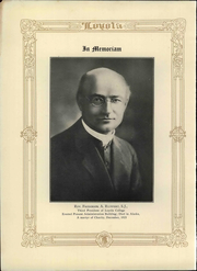 Page 12, 1924 Edition, Loyola University of Los Angeles - Lair Yearbook (Los Angeles, CA) online yearbook collection
