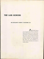Page 11, 1941 Edition, Loyola University of Los Angeles - Lair Yearbook (Los Angeles, CA) online yearbook collection