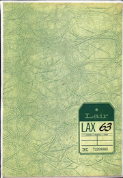 1963 Edition, Loyola University of Los Angeles - Lair Yearbook (Los Angeles, CA)