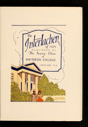 Page 7, 1929 Edition, Florida Southern College - Interlachen Yearbook (Lakeland, FL) online yearbook collection