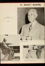 Page 12, 1951 Edition, Florida Southern College - Interlachen Yearbook (Lakeland, FL) online yearbook collection