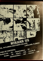 Page 7, 1976 Edition, Florida Southern College - Interlachen Yearbook (Lakeland, FL) online yearbook collection