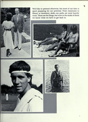 Page 11, 1984 Edition, Florida Southern College - Interlachen Yearbook (Lakeland, FL) online yearbook collection