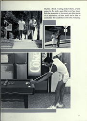 Page 15, 1984 Edition, Florida Southern College - Interlachen Yearbook (Lakeland, FL) online yearbook collection