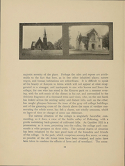 Page 14, 1903 Edition, Kenyon College - Reveille Yearbook (Gambier, OH) online yearbook collection