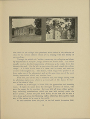 Page 15, 1903 Edition, Kenyon College - Reveille Yearbook (Gambier, OH) online yearbook collection