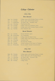 Page 11, 1906 Edition, Kenyon College - Reveille Yearbook (Gambier, OH) online yearbook collection