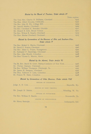 Page 13, 1906 Edition, Kenyon College - Reveille Yearbook (Gambier, OH) online yearbook collection