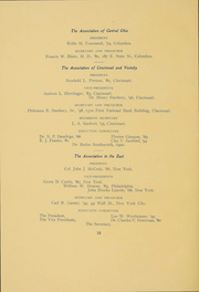 Page 15, 1906 Edition, Kenyon College - Reveille Yearbook (Gambier, OH) online yearbook collection