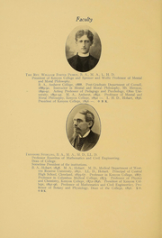 Page 17, 1906 Edition, Kenyon College - Reveille Yearbook (Gambier, OH) online yearbook collection
