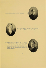 Page 44, 1906 Edition, Kenyon College - Reveille Yearbook (Gambier, OH) online yearbook collection