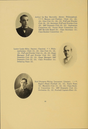 Page 45, 1906 Edition, Kenyon College - Reveille Yearbook (Gambier, OH) online yearbook collection