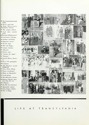Page 15, 1936 Edition, Transylvania University - Crimson Yearbook (Lexington, KY) online yearbook collection