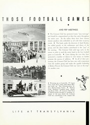 Page 16, 1936 Edition, Transylvania University - Crimson Yearbook (Lexington, KY) online yearbook collection