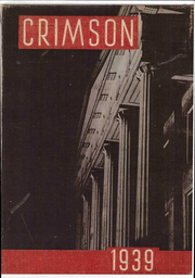 1939 Edition, Transylvania University - Crimson Yearbook (Lexington, KY)