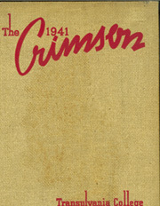 Page 1, 1941 Edition, Transylvania University - Crimson Yearbook (Lexington, KY) online yearbook collection