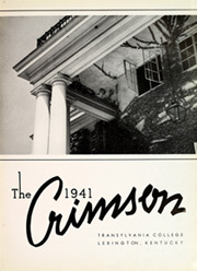 Page 5, 1941 Edition, Transylvania University - Crimson Yearbook (Lexington, KY) online yearbook collection