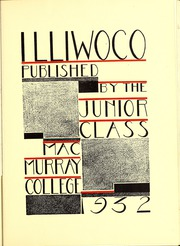 Page 9, 1932 Edition, MacMurray College - Illiwoco Yearbook (Jacksonville, IL) online yearbook collection