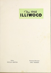 Page 5, 1948 Edition, MacMurray College - Illiwoco Yearbook (Jacksonville, IL) online yearbook collection