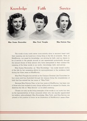 Page 15, 1949 Edition, MacMurray College - Illiwoco Yearbook (Jacksonville, IL) online yearbook collection