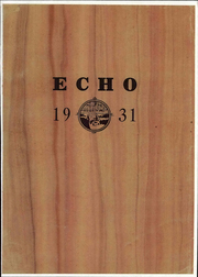 1931 Edition, Beulah College - Echo Yearbook (Upland, CA)