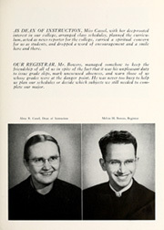 Page 13, 1948 Edition, Beulah College - Echo Yearbook (Upland, CA) online yearbook collection