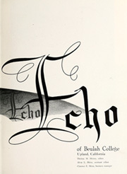 Page 7, 1948 Edition, Beulah College - Echo Yearbook (Upland, CA) online yearbook collection
