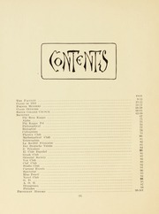 Page 12, 1911 Edition, Smith College - Smith College Yearbook (Northampton, MA) online yearbook collection