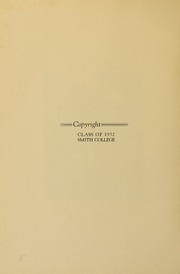Page 10, 1932 Edition, Smith College - Smith College Yearbook (Northampton, MA) online yearbook collection