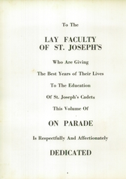 Page 10, 1953 Edition, St Josephs College and Military Academy - On Parade Yearbook (Hays, KS) online yearbook collection
