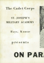 Page 6, 1953 Edition, St Josephs College and Military Academy - On Parade Yearbook (Hays, KS) online yearbook collection