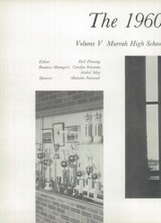 Page 6, 1960 Edition, Murrah High School - Resume Yearbook (Jackson, MS) online yearbook collection
