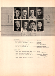 Page 13, 1943 Edition, Gulfport High School - Log Yearbook (Gulfport, MS) online yearbook collection