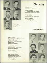 Page 12, 1958 Edition, Harrison Central High School - Rebel Yearbook (Gulfport, MS) online yearbook collection