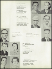 Page 10, 1959 Edition, Harrison Central High School - Rebel Yearbook (Gulfport, MS) online yearbook collection