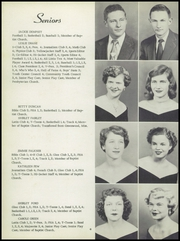 Page 10, 1954 Edition, Starkville High School - Yellow Jacket Yearbook (Starkville, MS) online yearbook collection
