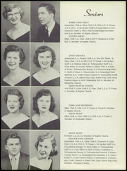 Page 11, 1954 Edition, Starkville High School - Yellow Jacket Yearbook (Starkville, MS) online yearbook collection
