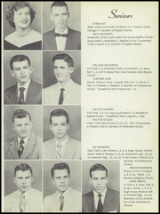 Page 13, 1954 Edition, Starkville High School - Yellow Jacket Yearbook (Starkville, MS) online yearbook collection