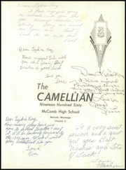 Page 5, 1960 Edition, McComb High School - Camellian Yearbook (McComb, MS) online yearbook collection