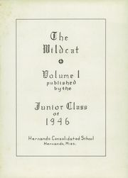 Page 5, 1946 Edition, Hernando High School - Wildcat Yearbook (Hernando, MS) online yearbook collection
