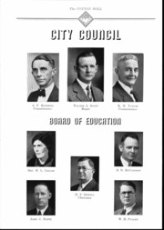 Page 13, 1937 Edition, Central High School - Cotton Boll Yearbook (Jackson, MS) online yearbook collection