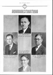 Page 14, 1937 Edition, Central High School - Cotton Boll Yearbook (Jackson, MS) online yearbook collection
