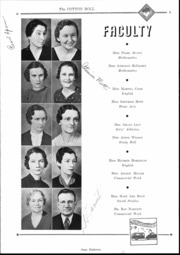 Page 15, 1937 Edition, Central High School - Cotton Boll Yearbook (Jackson, MS) online yearbook collection