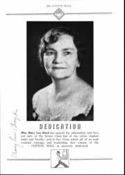 Page 6, 1937 Edition, Central High School - Cotton Boll Yearbook (Jackson, MS) online yearbook collection
