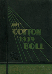 1939 Edition, Central High School - Cotton Boll Yearbook (Jackson, MS)