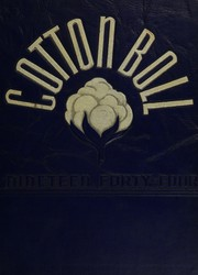 1944 Edition, Central High School - Cotton Boll Yearbook (Jackson, MS)