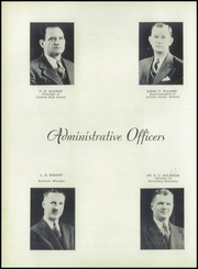 Page 16, 1945 Edition, Central High School - Cotton Boll Yearbook (Jackson, MS) online yearbook collection