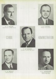 Page 17, 1949 Edition, Central High School - Cotton Boll Yearbook (Jackson, MS) online yearbook collection