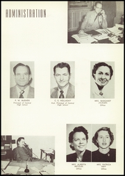Page 13, 1953 Edition, Central High School - Cotton Boll Yearbook (Jackson, MS) online yearbook collection